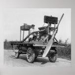 Aircraft Wagon: 1922 Print