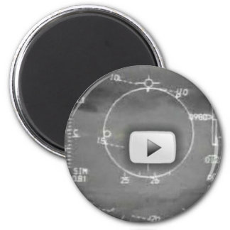 AIRCRAFT WEAPONS SYSTEMS CAMERA 2 INCH ROUND MAGNET