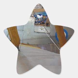 Aircraft Wing Star Sticker