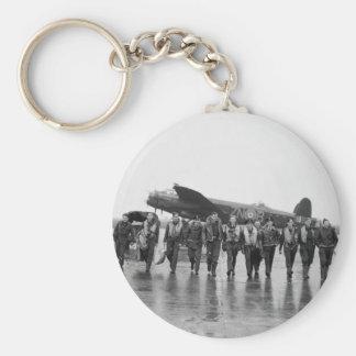 Aircrew 106 Lancaster Bomber RAF Basic Round Button Keychain