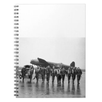 Aircrew 106 Lancaster Bomber RAF Notebook