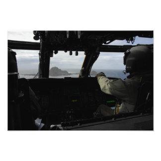 Aircrews approach Farallon Island Photo Print