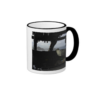 Aircrews approach Farallon Island Ringer Mug