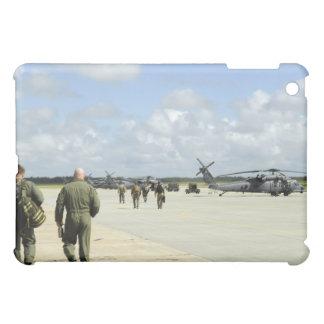 Aircrews prepare to depart iPad mini covers
