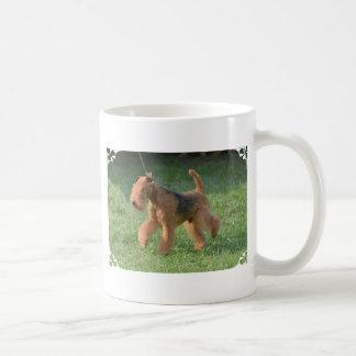 Airdale dulce Terrier Tazas