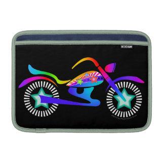 """Aire 11"""" de MacBook de la MOTOCICLETA del arte pop Fundas Macbook Air"""