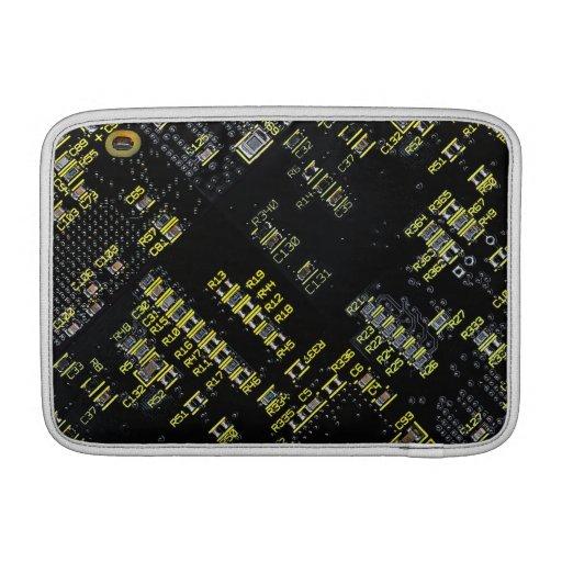 """Aire 11"""" de Macbook del tablero del circuito integ Funda MacBook"""