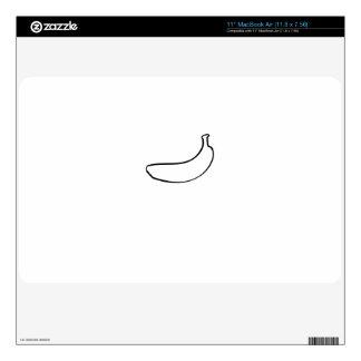 Aire 11inch de Mac Book del plátano MacBook Air Calcomanía