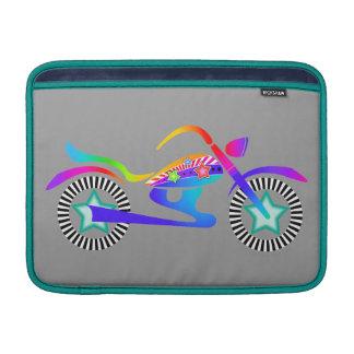"""Aire 13"""" de MacBook de la MOTOCICLETA del arte pop Funda Macbook Air"""