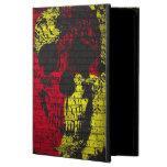Aire abstracto del iPad del cráneo de la pintada