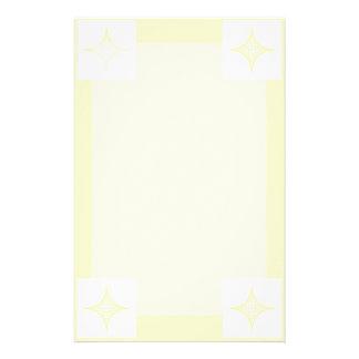Aire (amarillo) papelería de diseño