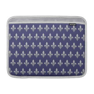 "Aire azul floral 13"" de Macbook de la flor de lis  Fundas Para Macbook Air"