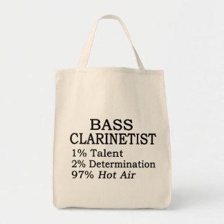 Aire caliente del Clarinetist bajo Bolsa Lienzo