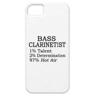 Aire caliente del Clarinetist bajo iPhone 5 Case-Mate Coberturas