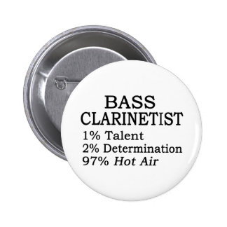 Aire caliente del Clarinetist bajo Pin