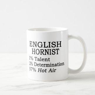 Aire caliente del Hornist inglés Taza Clásica