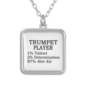 Aire caliente del jugador de trompeta collares personalizados