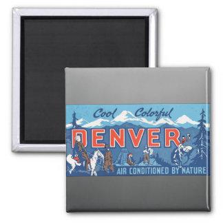 Aire colorido fresco de Denver condicionado por la Iman De Nevera
