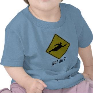¿Aire conseguido? Camisetas