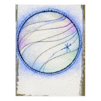 Aire de cuatro elementos postal