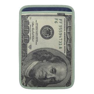 Aire de MacBook cientos casos de billete de dólar Fundas Macbook Air