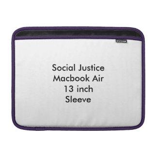 Aire de Macbook de la justicia social manga de 13 Funda Macbook Air