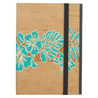 Aire de madera del iPad del Tapa hawaiano del