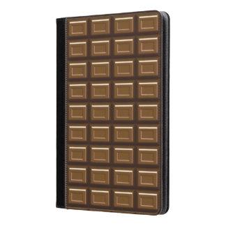 Aire del iPad de la barra de chocolate y folio del