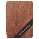Aire del iPad de la mirada/cubierta de madera Cover De iPad Air