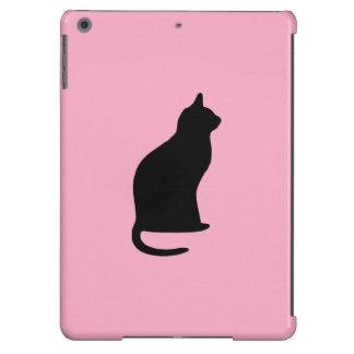 """""""Aire del iPad de la silueta del gato"""", apenas cas Funda Para iPad Air"""