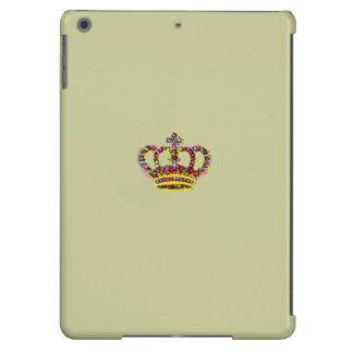 Aire del ipad de REYES CROWN NEUTRAL BACKGROUND Funda Para iPad Air