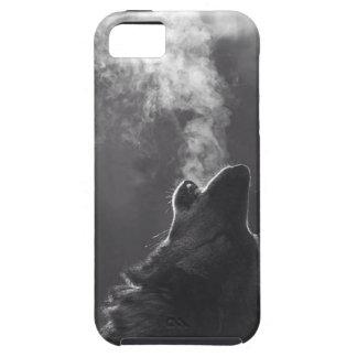 Aire del lobo iPhone 5 fundas