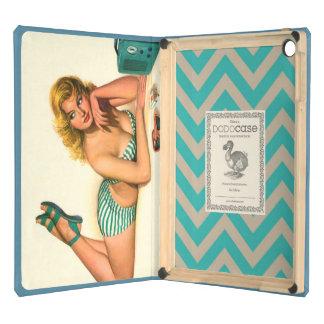 """aire DODOcase del iPad del """"chica modelo"""""""