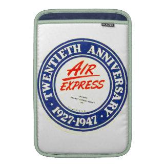 Aire expreso de Macbook del aniversario de aire Fundas Macbook Air