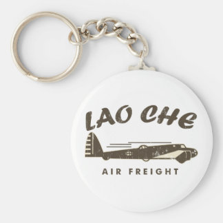 Aire freight2a de LAO-CHE Llavero Redondo Tipo Pin