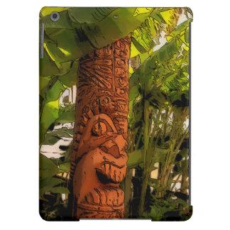 Aire hawaiano ilustrado Tiki tropical del iPad del