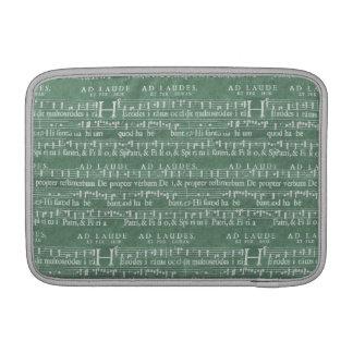 """Aire medieval 11"""" de Macbook del manuscrito de la  Fundas MacBook"""