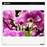 """Aire púrpura 11"""" de MacBook de la orquídea piel MacBook Calcomanía"""