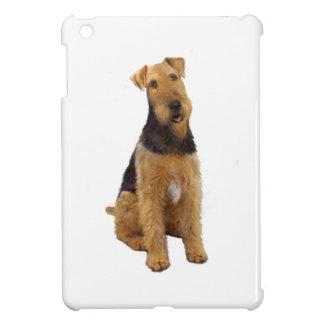Airedael Terrier (c) - sentándose iPad Mini Carcasas