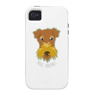Airedale ágil iPhone 4 funda