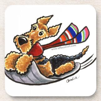 Airedale Aire-Sledding Terrier Posavaso