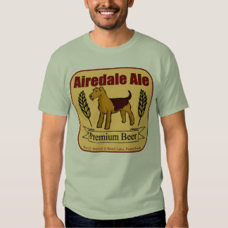 Airedale Ale Tee Shirt