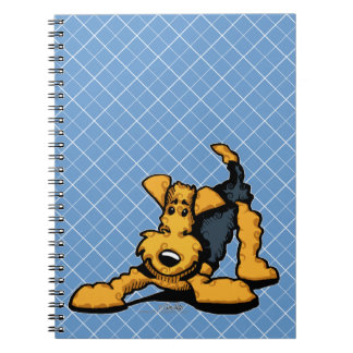 Airedale at Play Notebook