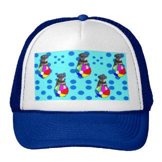 AIREDALE BABY DIVA BLUE TRUCKER HAT