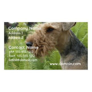 Airedale Business Cards