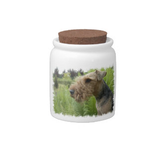 Airedale Candy Jar