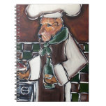 Airedale Chef Spiral Note Books