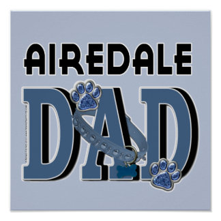 Airedale DAD Poster