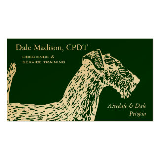 Airedale Dog Business Business Card Templates