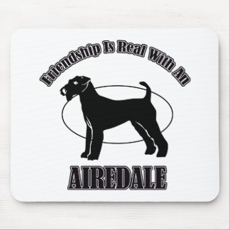 AIREDALE DOG DESIGNS MOUSEPAD